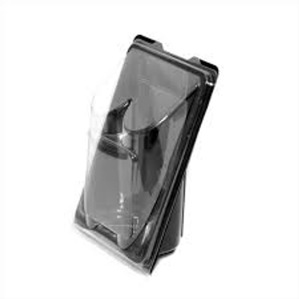 Black Back Tortilla Wrap Plastic Container [RB0425] (a Pack of 500)