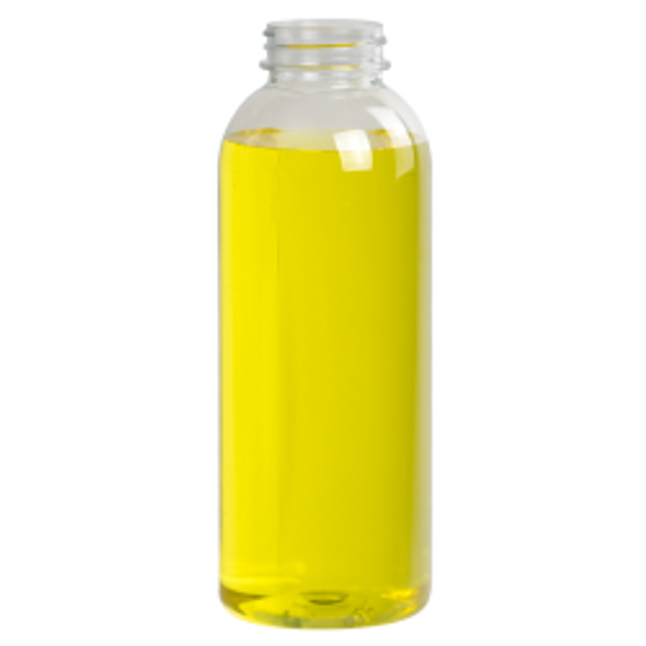 Clear Round Juice Bottle and White caps [330ml] (a Pack of 176 set)