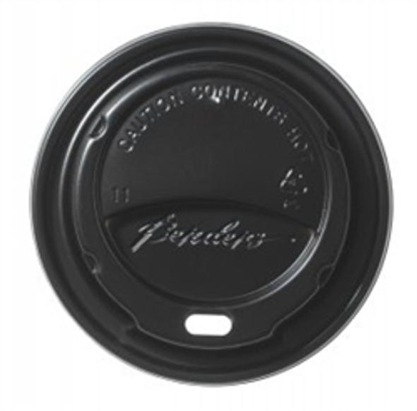 Bender Hot Plastic Lid [12oz & 16oz] Black Domed (a pack of 1000)