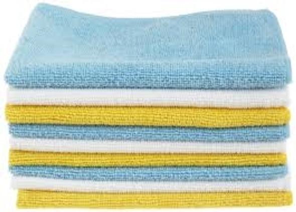 Microfiber Cloth Blue [Pack of 10]
