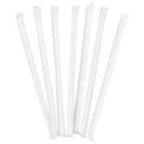 Straw Wrapped [397WRAPL] Striped Bendy (a pack of 500)