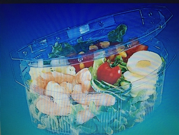 GPI Multipack [M125] Clear Hinged Container [125cc] (a pack of 800)