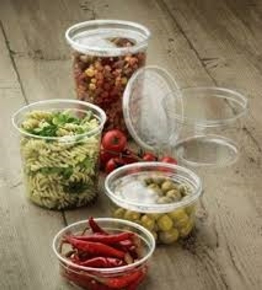 Solo [DM16R] Clear Deli Container  just base [16oz] (473ml) (pack of 500)