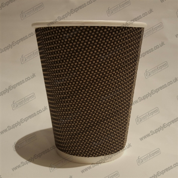 Signature VIP Paper Cup 8oz, Insulated Rippled Paper Cup for Hot Drink (a pack of 500)