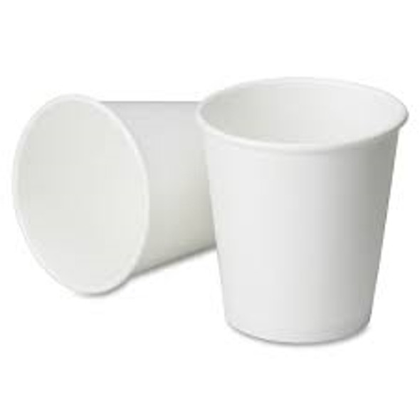 Go-Pak White Paper Cup Hot [16oz] (450ml) Double Wall (a pack of 500)