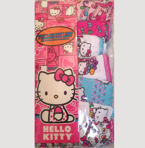 Disney's Hello Kitty Girls Toddler 7-pk. Panties