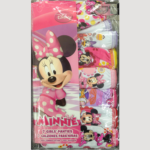 Disney's Minnie Mouse Toddler 7-pk. Panties