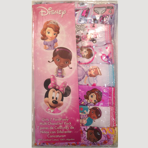Disney's Multi-Character Toddler 7-pk. Panties