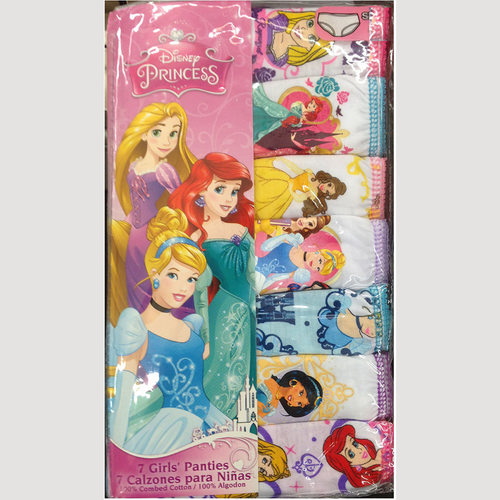 Disney's Princess Toddler Girl 7-pk. Panties