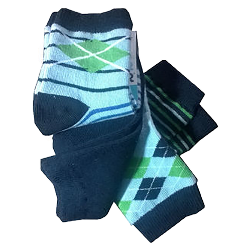 Joe Boxer Toddler Boy's 4 Pair Crew Socks