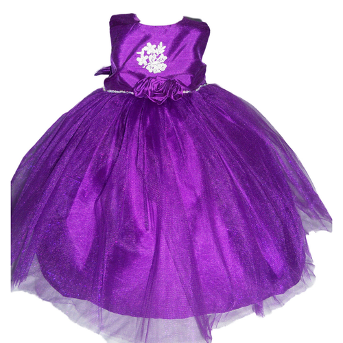 Marmellata Toddler Girls' Purple Special Occasion Dress