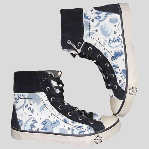 UGG Australia Women's Stellah Graffiti High-Top Sneakers