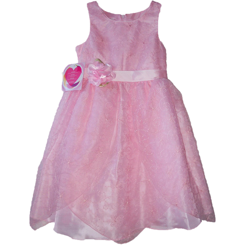 Girls' pink dress for special occasions by Youngland