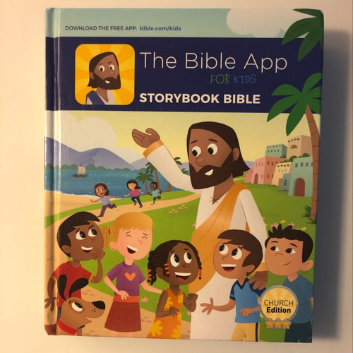 The Bible App for Kids StoryBook Bible by YouVersion and OneHope