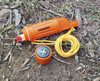 Our 5-IN-1 Survival Whistle in Orange. This survival whistle is great for camping, hiking, hunting, fishing, outdoor activities, travel, emergency kits, survival kits, etc.