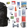Black 64 Piece Survival Backpack