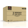 Emergency supply of breakfast, lunch & dinner for 1 person, for 72 hours. This stackable, easy-to-store kit contains 18 servings of Mountain House meals, approx. 1,706 calories per day.