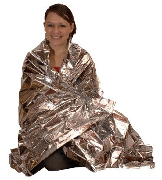 This Emergency Blanket is compact, durable and reliable for any emergency