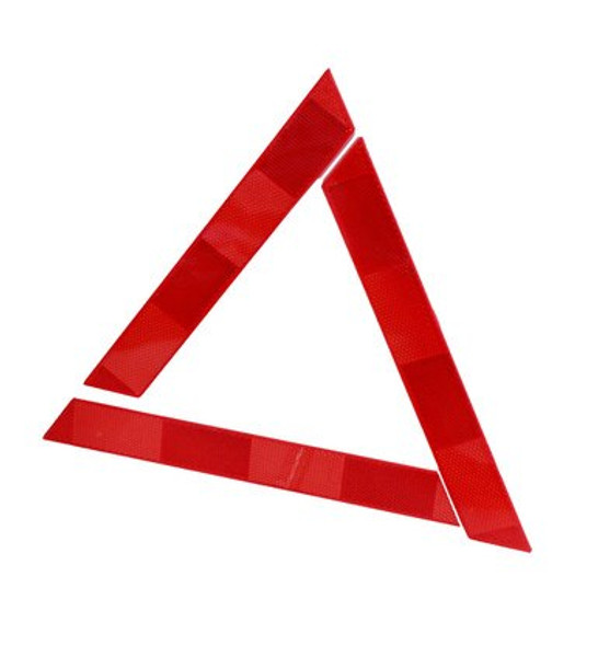 This Reflective Triangle is a must have in your car, perfect for roadside emergencies.