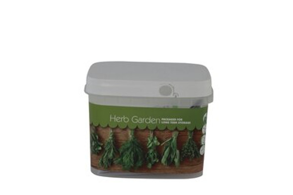 The Culinary Herb Garden Preparedness Seeds provide a missing link within your food storage plan. Each bucket contains 10 popular culinary herb varieties that will produce enough herbs to spice up your food storage meals in hard times!  These Seeds are Non-Hybrid, Non-GMO and are not chemically treated. Because they are non-hybrid, seeds may be harvested at the end of the growing season and then used for the next year's planting. Each of our seed varieties comes with a Quick Start Growing Guide.