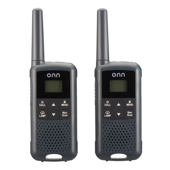 Offering 22 FRS channels on the FM band to make communicating crystal clear and interference free, you can keep your conversations secure by using the 121 privacy codes. These walkie talkies are compact and, at 0.22 pounds each, are lightweight to go anywhere strapped to you with the included belt clip. Including two walkie talkies, this family pack comes with six rechargeable NiMH AA batteries and one charging cord. Perfect for hiking, camping, fishing, other outdoor activities, work sites, job sites and more sites.Comes with LED light for poor visibility!