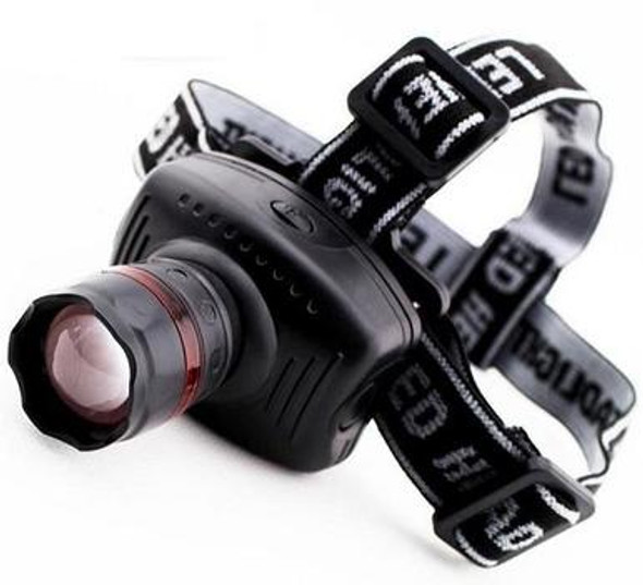 This Zoomable LED Headlamp Flashlight is perfect to carry around for universal purposes! Whether hiking, camping, work purposes, or just any emergencies this is headlamp is lightweight and portable with 3 Modes of High / Low / Strobe.