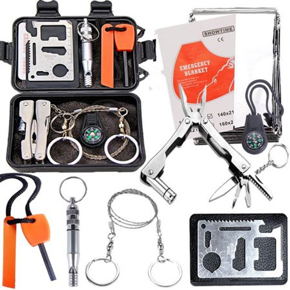 This 7 in 1 SOS Emergency Kit is light weight, compact, both waterproof and shockproof! Compact and portable , a must have to carry around to be prepared for any given situation.