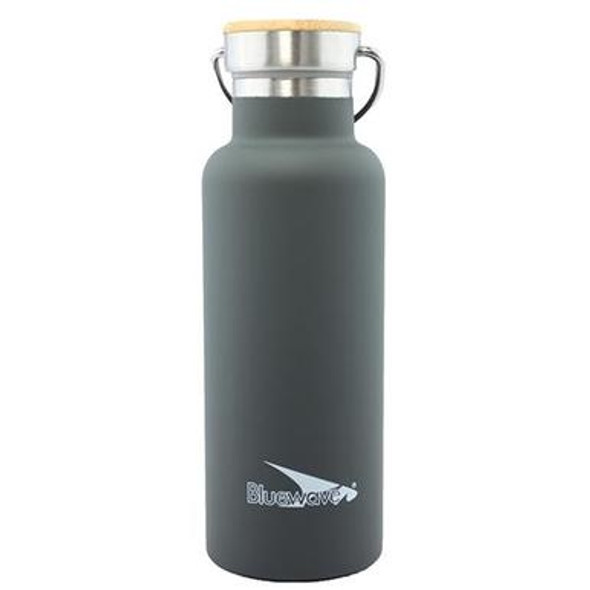 Keep your water safe, hot, or cold in Bluewave's stainless steel D2 Insulated Water Bottle! 100% Food Grade Material - BPA Free & Reusable, Durable enough to handle all the bumps and drops! With it's double later vacuum insulation technology it keeps your drink hold/cold for hours!