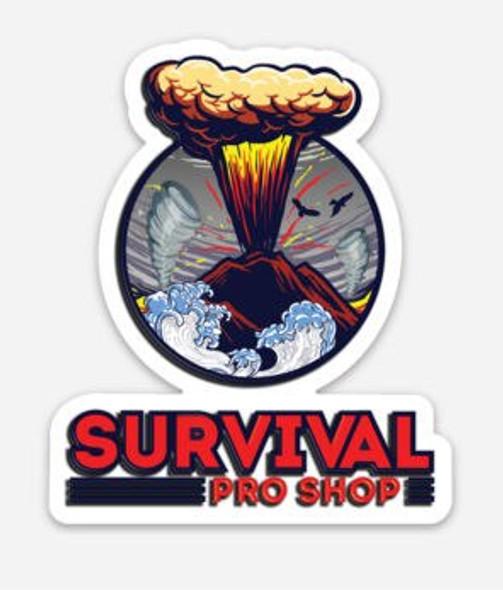 Survival Pro Shop Logo - Sticker