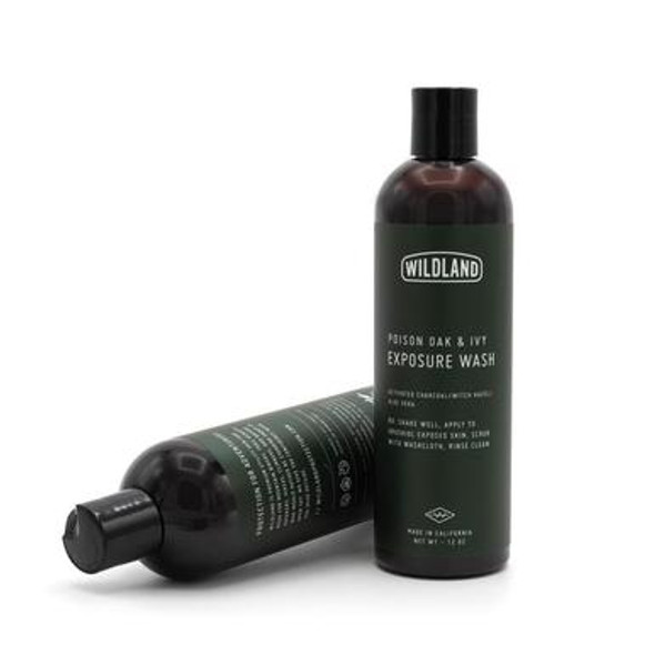 Windland's Poison Oak & Ivy Exposure Wash is a must have! Our custom, biodegradable formulation uses a plant-based cleanser to remove the harmful Poison Oak & Ivy oils and then wash them away. The activated charcoal is helpful with adsorption of the oil, and the Aloe helps moisturize and protect your skin.