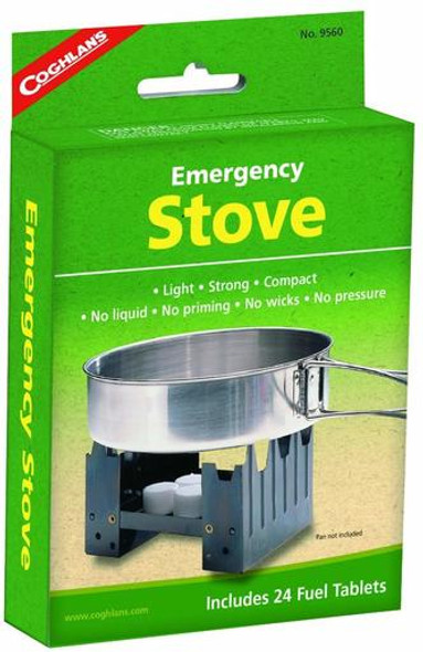 Coghlan's Emergency Stove is ideal for on the go trips or outdoors! This stove is light weight, strong, and compact. A must need even if its just for emergencies, The Coghlan's Emergency Stove provides a peace of mind!