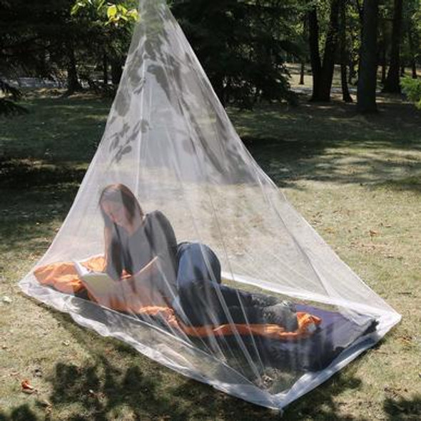 Coghlan's Hiker's Mosquito Net is ideal for travel and camping trips to mosquito borne areas, these mosquito nets fit over sleeping bags and cots. They provides fully enclosed protection against biting insects and mosquitoes when sleeping outdoors or indoors. Lightweight and Efficient!