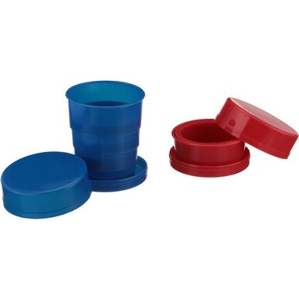 Coghlan's Collapsible Tumblers is durable and unique design allows you to save space in your pack. When you're on the go or participating in any outdoor activity these collapsible tumblers provide you with the perfect vessel for drinks on the go.