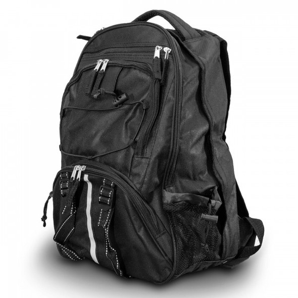 The Black 64 Piece Survival Backpack provides you with everything from first aid necessities to waterproof matches. It even includes 32 servings of entree options to keep you replenished and energized for the days ahead and a portable stove to simplify reconstitution.