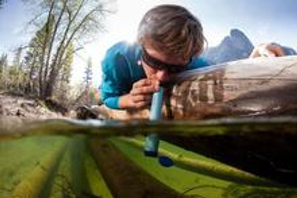LifeStraw - Personal survival water filter - (Green)