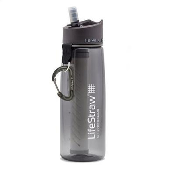 LifeStraw Go is an advanced 2-stage water filter bottle that protects against bacteria, parasites and micro-plastics, reduces chemicals like chlorine and improves water taste.  The robust, leak-proof, BPA free bottle is built for harsh conditions and longevity.