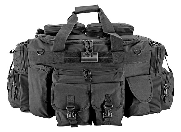 EastWest USA - XL Tank Tactical Duffle Bag - Black  Perfect bug out bag setup, plenty of room for the essentials. Works great as a tactical travel trunk bag as well or a large field range bag.