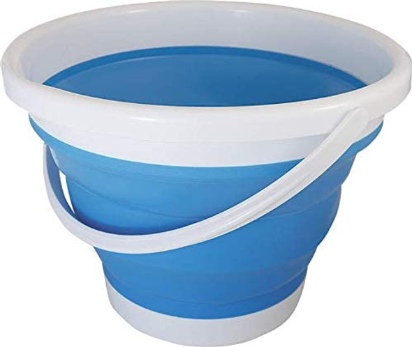 Coghlan's Collapsible bucket is handy for all sorts of tasks at the campsite, or in the yard. Made of durable, food-safe TPR and PP plastics, this bucket can handle everything from collecting berries to carrying tools. With hanging holes on the rim and the ability to collapse to only a few inches, they are easy to store in tight places.