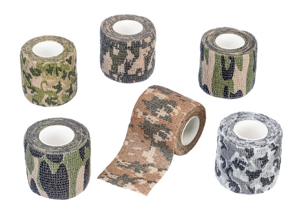 This item wraps around many shapes and protects your outdoor equipment from scratches and other damage. These camouflage wraps stick to themselves and you can easily cut them. They are lightweight and non-adhesive, so you do not need to worry about adhesive residue.