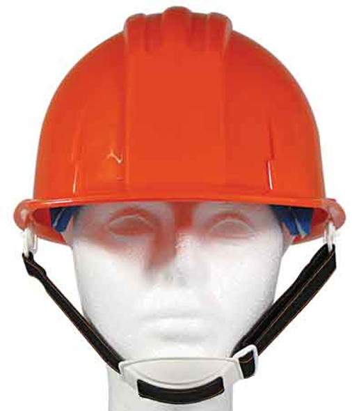 Hard Hat With Adjustable Chin Strap - ANSI Approved