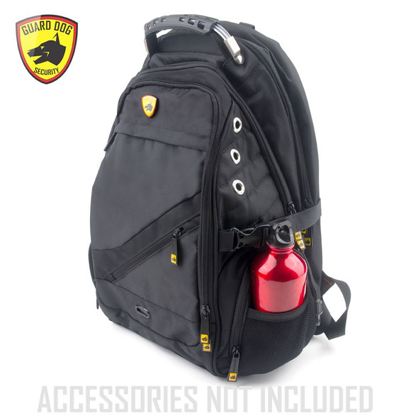 Guard Dog Bulletproof Backpack - Proshield II Level IIIA tested, this bulletproof backpack provides protection capable of saving a life.