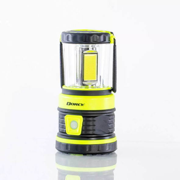 The Adventure Lantern is a powerful 1800 lumen rechargeable lantern. It features four light functions including high, medium high, med low and low. With the variety of brightness modes it allows you to have the right amount of light for any situation along with controlling the run time.