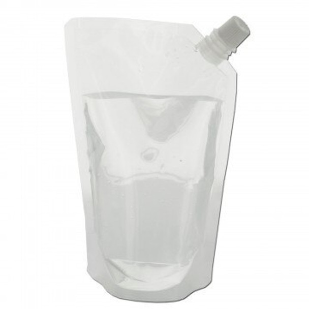 16.9 oz. Emergency Water bag is a durable transparent plastic bag that is perfect for emergencies and camping on the go. Can be easily stored away anywhere.