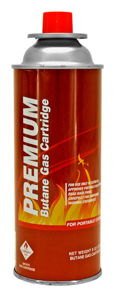 Premium Butane Gas Cartridge - 4 PACK