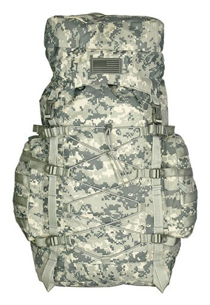 Light weight hiking backpack, The Washington backpack in digital camo.
