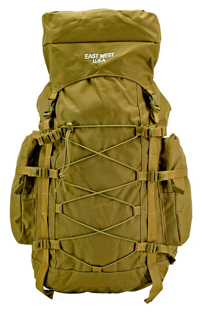East west USA Outdoor Hiking Backpack, Trekking Bag Pack - Desert Tan
