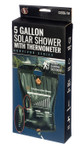 5 Gallon Solar Shower With Thermometer