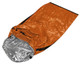 The compact size of our emergency sleeping bag makes it convenient to take with you anywhere. It's perfect for any emergency or bug-out bag and leaves you plenty of space for other gear.