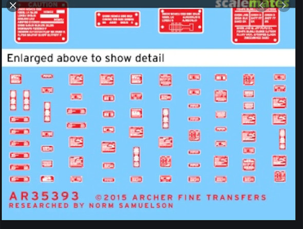 Generic Warning Placards (red on white)