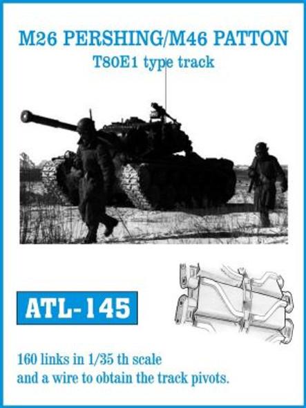 M26 PERSHING / M46 PATTON T80E1 type track